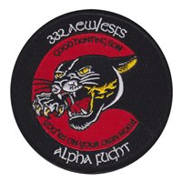 332 ESFS Black Panther Patch