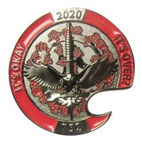 752 SOAMXS Bottle Opener Challenge Coin