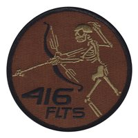 416 FLTS Skull Friday OCP Patch