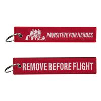 WNYHeroes Pawsitive for Heroes Key Flag