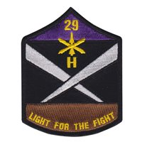 Battery H 29th Field Artillery II Field Force Vietnam Patch