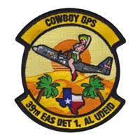 39 EAS Det 1 Al Udeid Cowboy OPS Patch