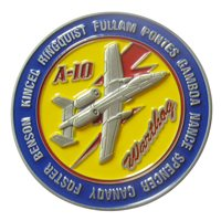 A-10 Demo Team 2021 Challenge Coin