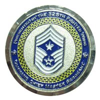 325 FW Command Chief Custom Coin