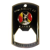 36 AS Bottle Opener Challenge Coin