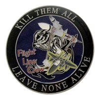 428 AMU Coin Custom Air Force Challenge Coin