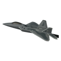 433 WPS F-22A Raptor Custom Airplane Model Briefing Stick
