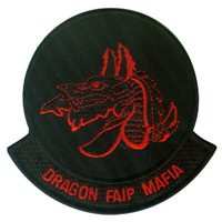 33 FTS Dragon MAFIA Red Patch