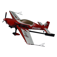 Extra 300L Custom Airplane Model Briefing Stick