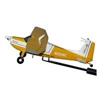 Cessna 180 Custom Airplane Model Briefing Stick