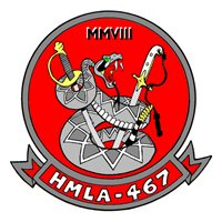HMLA-467 AH-1 Super Cobra Custom Airplane Model Briefing Stick