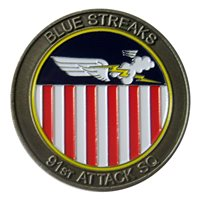 91 ATKS Challenge Coin