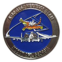 A-10 East Demo Team Custom Air Force Heritage Challenge Coin
