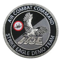 F-15E Demo Team Patch
