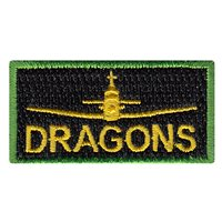 459 FTS Twin Dragons Pencil Patch