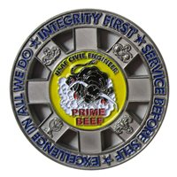 355 CES Custom Air Force Challenge Coin