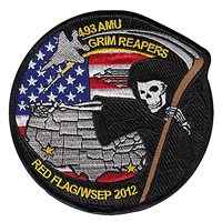 493 AMU Red Flag 2012 Patch