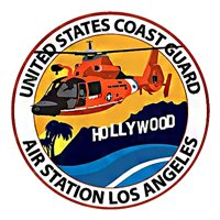 CGAS Los Angeles MH-65 Custom Helicopter Model