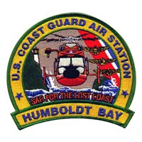 CGAS Humboldt Bay MH-65D Dolphin Custom Airplane Model Briefing Sticks