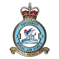 No. 3 Squadron RAF Typhoon Aircraft Model