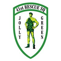 41 RQS Jolly Green Patch