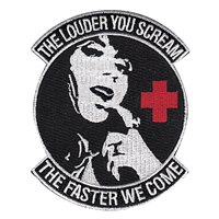 446 AES Louder You Scream Patch
