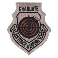 USAF Weapons School Graduate Desert Patch