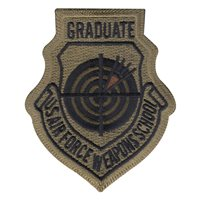 USAF Weapons School Graduate OCP Patch