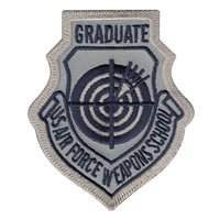 USAF Weapons School Graduate ABU Patch