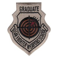 Fighter Weapons School Graduate Desert Patch