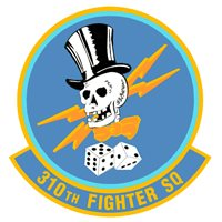 310th Fighter Squadron (310 FS) Patches