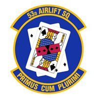 53d Airlift Squadron (53 AS) Patches