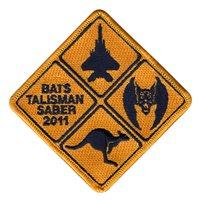 44 FS Bat Talisman Patch
