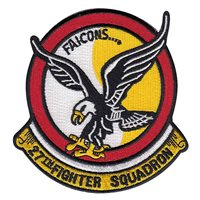 27 FS Black Falcon Patch