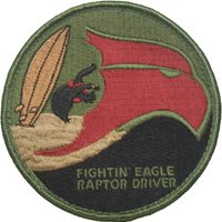 27 FS Fightin' Eagle Guam Patch