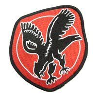27 FS Black Falcon Heritage Patch
