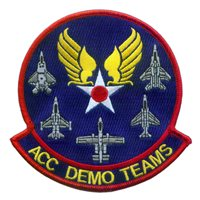 HQ ACC Demo Team Patch