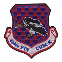 434 FTS Check Flight Shield Patch