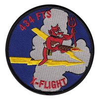 434 FTS X Flight Patch