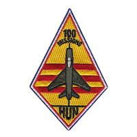434 FTS Hun 100 Missions Patch