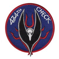 434 FTS Check Flight Patch