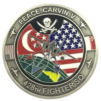 428 FS Peace Carvin V Coin
