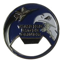 44 FS Vampire Eagle Driver Bottle Opener Coin