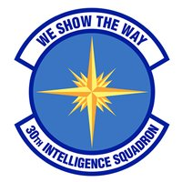 30th Intelligence Squadron (30 IS) Patches