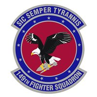 149th Fighter Squadron (149 FS) Patches