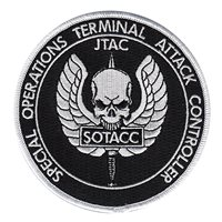SOTACC Black and White Patch