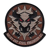 451st Expeditionary (451 EXP) Civil Engineer Squadron Patches