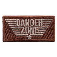 451st Air Expeditionary Wing (451 AEW) Danger Zone Pencil Patches