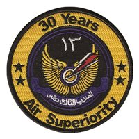 13 Squadron RSAF 30 Years Patch