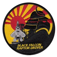 27 FS Shuttle Raptor Driver Patch